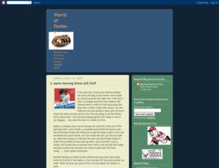 wofantasybaseball.blogspot.com screenshot