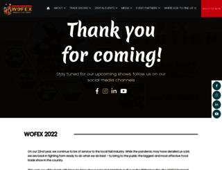 wofex.com screenshot