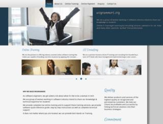 wogrammers.org screenshot