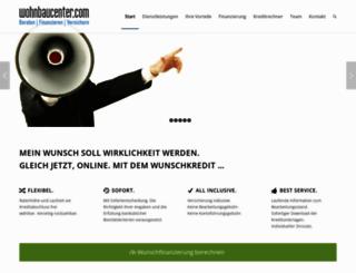 wohnbaucenter.com screenshot