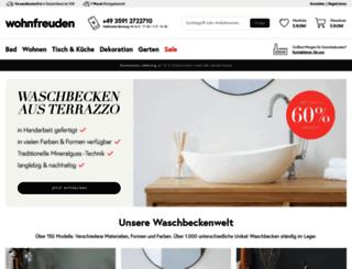 wohnfreuden.de screenshot