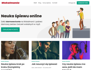 wokalmania.pl screenshot