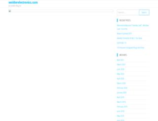 wolderelectronics.com screenshot