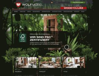 wolf-moebel.com screenshot