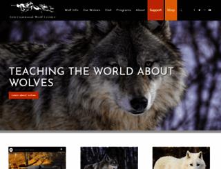wolf.org screenshot