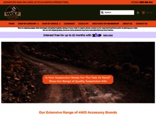 wolf4x4.com.au screenshot