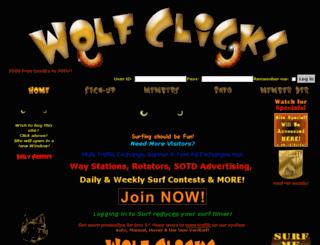 wolfclicks.com screenshot