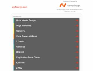 wolfdezign.com screenshot