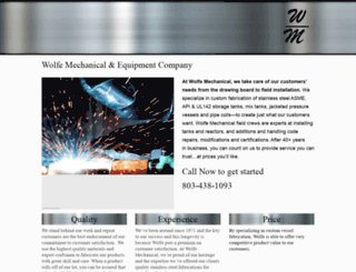 wolfemechanical.net screenshot