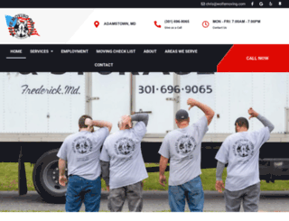 wolfemoving.com screenshot