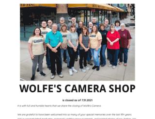 wolfes.com screenshot