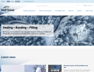 wolfgroupweb.com screenshot