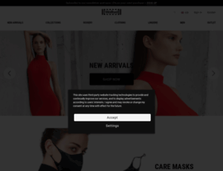 wolfordshop.co.uk screenshot