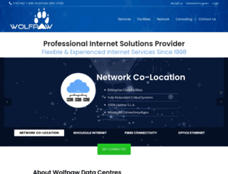 wolfpaw.com screenshot