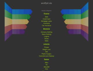 wolfpil.googlepages.com screenshot