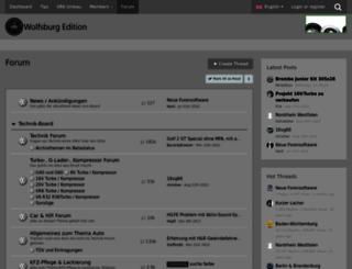 wolfsburg-edition.info screenshot