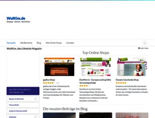 wolkim.de screenshot