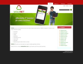 wolknet.com screenshot