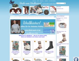 wollkisterl.eshop.t-online.de screenshot