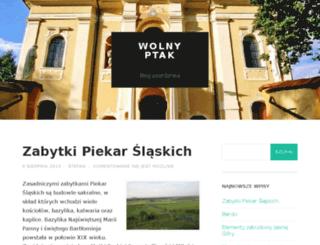 wolnyptak.pl screenshot