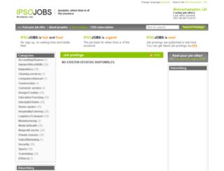 wolverhampton.ipsojobs.com screenshot