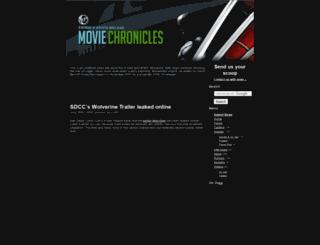 wolverine.moviechronicles.com screenshot