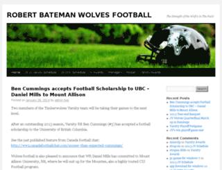 wolvesfootball.net screenshot