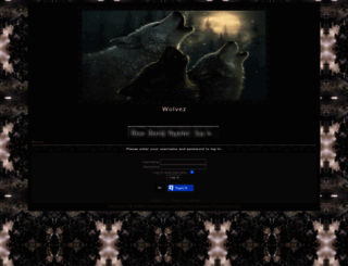 wolvez.darkbb.com screenshot