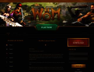 wom2.org screenshot