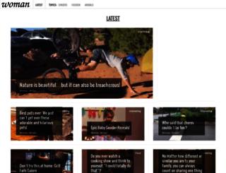 woman.hudo.com screenshot