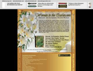 womaninthequran.com screenshot