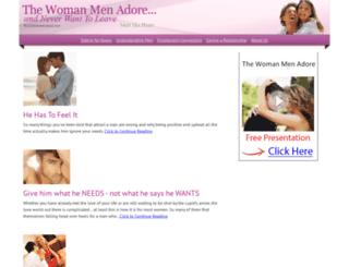 womanmenadore.net screenshot