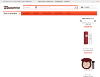 womanna.com screenshot