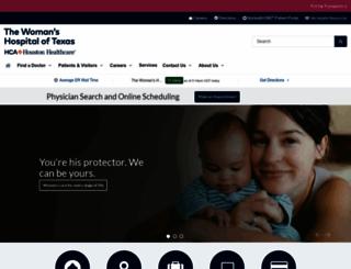 womanshospital.com screenshot