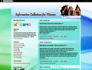 women-information.blogspot.com screenshot