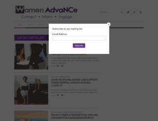 womenadvancenc.org screenshot