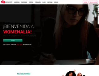 womenalia.com screenshot