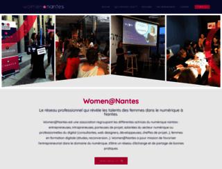womenatnantes.com screenshot
