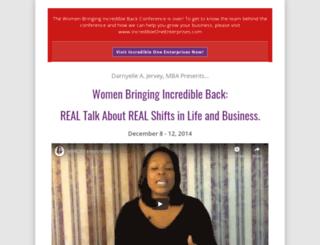 womenbringingincredibleback.com screenshot