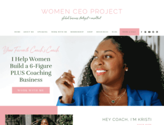 womenceoproject.com screenshot