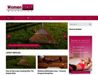 womendailymagazine.com screenshot