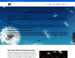 womenentrepreneurshipperu.com screenshot