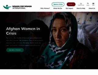 womenforwomen.org screenshot