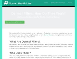 womenhealthline.com screenshot