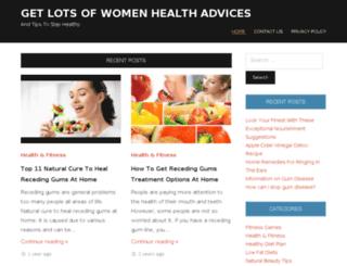 womenhealthzones.com screenshot