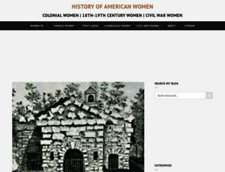 womenhistoryblog.com screenshot