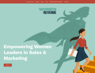 womeninrevenue.org screenshot