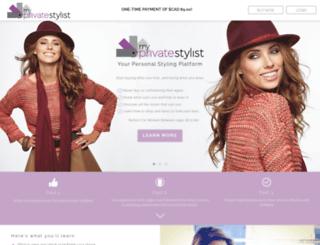 womeninstyle.myprivatestylist.com screenshot