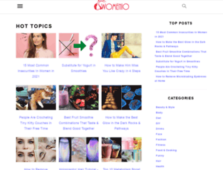womenio.com screenshot