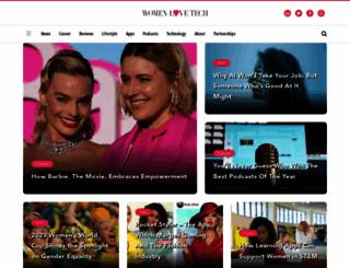 womenlovetech.com screenshot